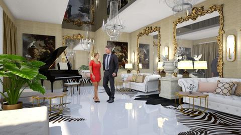 BALLROOM - Classic - Living room - by chania