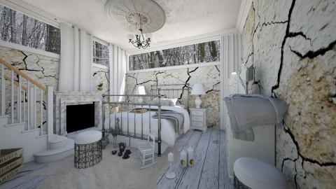 basement frost - Vintage - Bedroom - by sometimes i am here