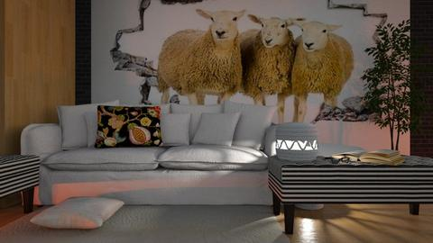 Three_Sheep - Living room - by ZuzanaDesign