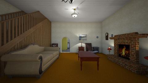Vintage Home LR - Living room - by WestVirginiaRebel