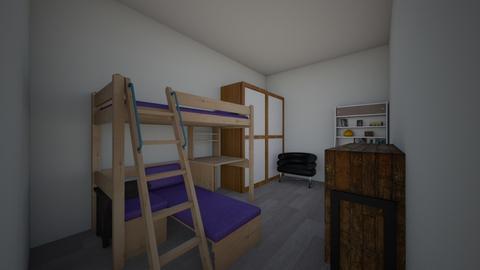 Bedroom - Bedroom - by myansweris42