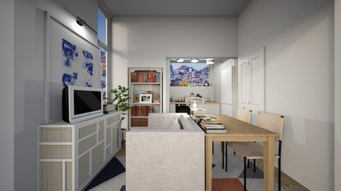 Casa246LivingArea - Living room - by nickynunes