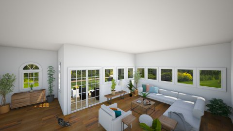 Modern Living Room - Modern - by lucymorgan