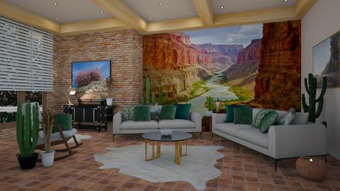 The Grand Canyon - Living room - by matina1976