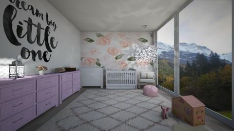 pink nursery - by Kylie Gallant