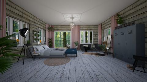 wood - Bedroom - by TRMVM