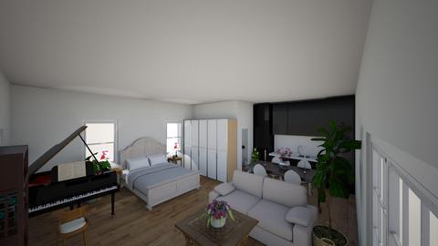 Tiny Home - Minimal - Living room - by Bear3