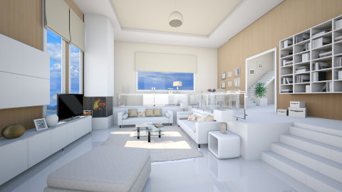 cubic situation - Modern - Living room - by Senia N
