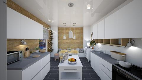 kitchen - by Aleksandra Boguta
