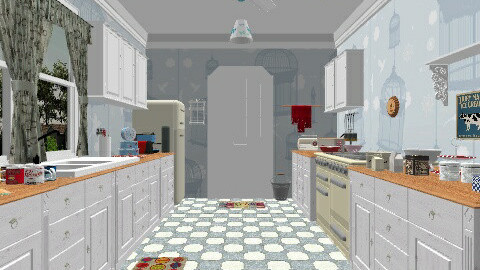 1960s Kitchen - Retro - Kitchen - by yourjieee