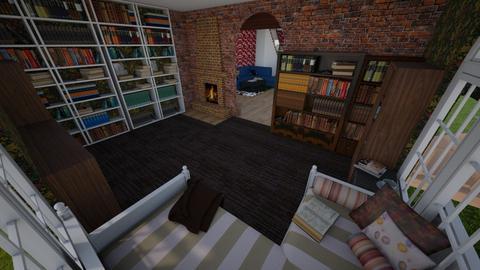 Reading room 1 - by Mia Joami
