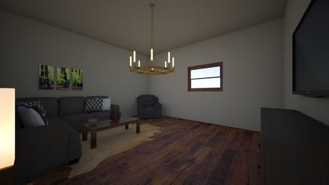 Spanish Project  - Living room - by bob_santiago_rocks