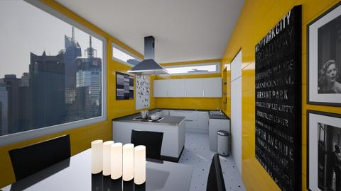 New York Kitchen - Kitchen - by amyskouson
