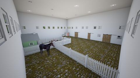 huge_indoor_farm_w_stable - Modern - Garden - by jade1111
