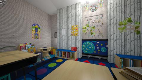 My Classroom - Rustic - Kids room - by prncez