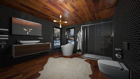 Design 22 NEGRONI - Bathroom - by michellitamuralles