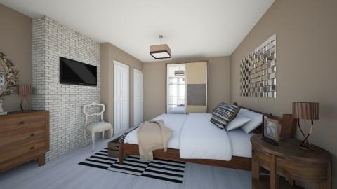 Bedroom redesign - Minimal - Bedroom - by Brubs Schmitt
