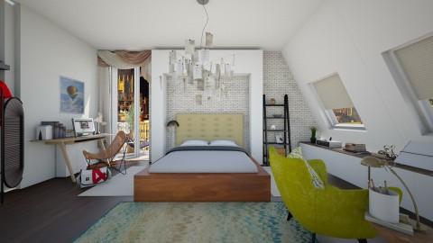 balanced - Bedroom - by clarisa