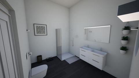 Grey Guest Bath - Bathroom - by Cameron Dunewood