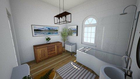 102 Bush Road - Bathroom - by rachelbbridge