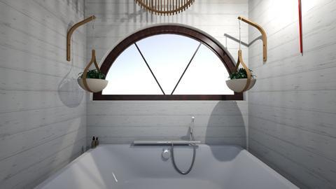 boho bathroom - Bathroom - by nmilby251425