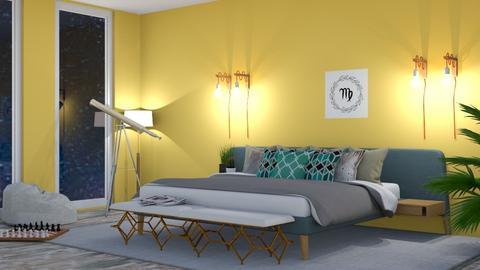 Virgo - Bedroom - by Ellie665