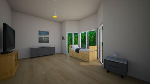 Modern Bedroom - by xXRodrigoPlaysXx