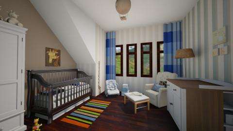 Rowan - Kids room - by FranChi