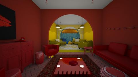 a pop of color - Living room - by marleyjomacdougall