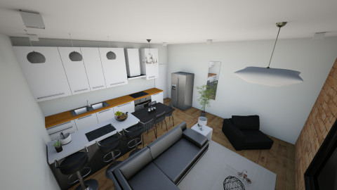 casa me1qwmm2 - Living room - by Araujo
