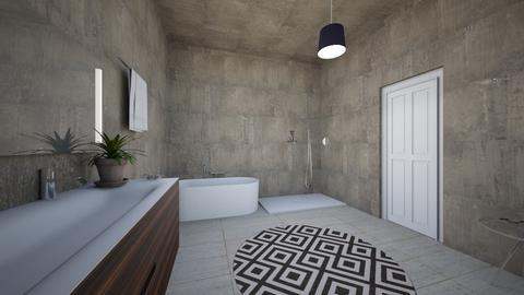 wc - Bathroom - by linneavihriala