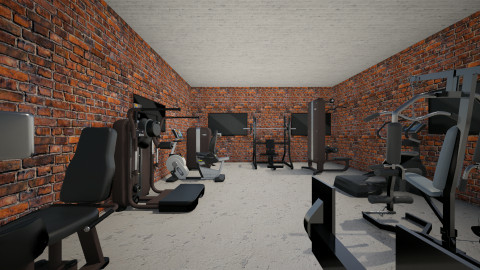 Work out room - Classic - by dionicholson60