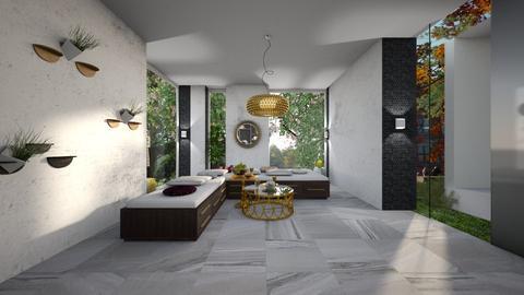 Modern Triclinium - Dining room - by Vlad Silviu