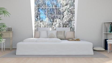 Spring Bed - Modern - Bedroom - by millerfam