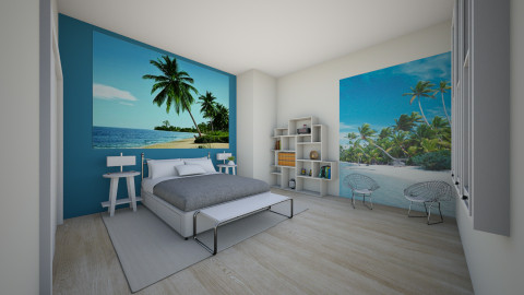 beach room - Bedroom - by Andypandy12345