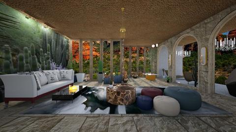 Desert - Living room - by Wildflowers