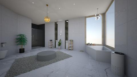 luxurious bathroom - Bathroom - by avawrightthewrightone
