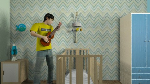 Baby Bedroom - Kids room - by Rosalie Carrier