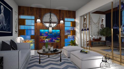Nautical Home Decor - Living room - by bigmama14