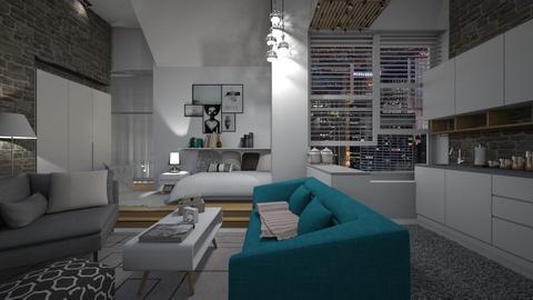 small apartment - by Senia N