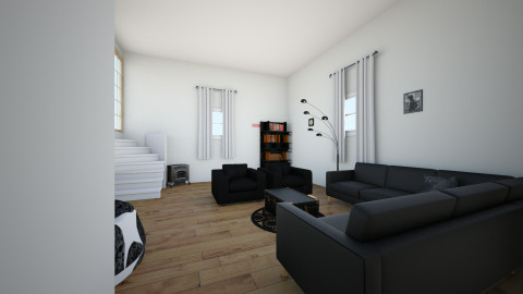 Hair salon by meaes for Living room hair salon