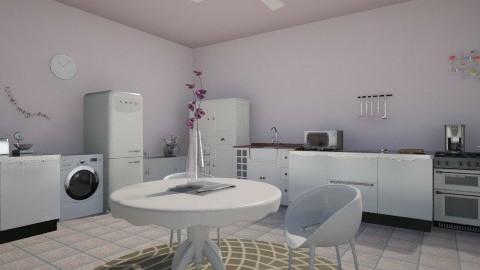 Purple kitchen - Glamour - Kitchen - by Bige