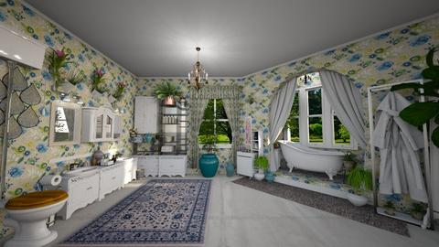 shabby bath - by Christine Keller