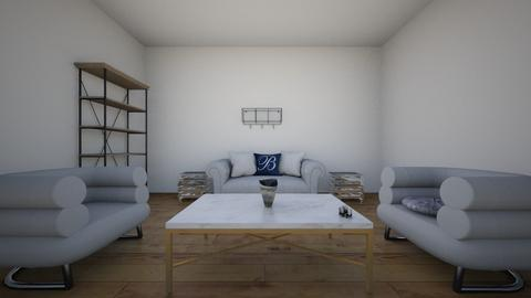 condo l - Living room - by Ihaleyj