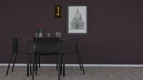 Thirsty - Minimal - Dining room - by HenkRetro1960