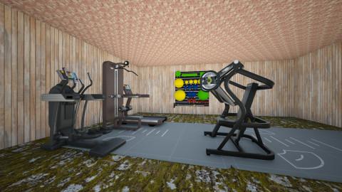 Gym - Minimal - by gaulsabirin