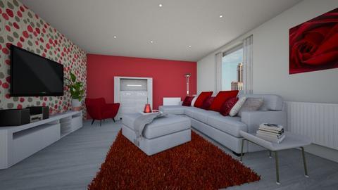 Livingroom appartment - Modern - Living room - by tornadolynn