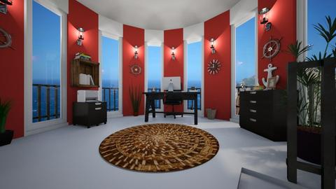 Nautical Office - Office - by ElleP
