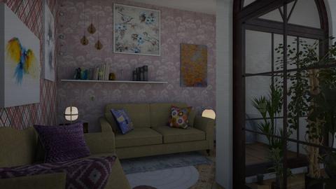 paraiso - Living room - by wiwa