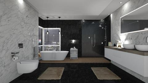 bathroom - by mayssaltf